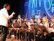 Концерт биг-бенда детской джазовой школы и легендарного джаз-оркестра Кима Назаретова возле главного корпуса ДГТУ
